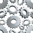 Gears seamless background. — Stock Vector #51679361