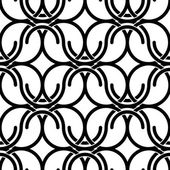 Black and white vintage style netting seamless pattern, vector b — Stock Vector