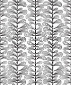 Hand drawn vertical lines seamless pattern, vector background. — Stock Vector