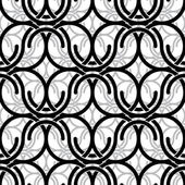 Monochrome vintage style mesh seamless pattern. — Stock Vector