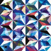 Gemstone texture seamless pattern, vector background. — Stock Vector