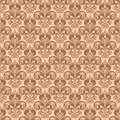 Stylish vintage floral seamless pattern, Victorian style vector  — Stock Vector