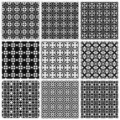 Ensemble des motifs géométriques sans soudure. — Vecteur