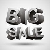 Letras de gran venta. — Vector de stock