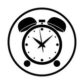Alarm clock vector icon. — Stock Vector