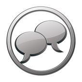 Speech bubbles icon. — Stock Vector