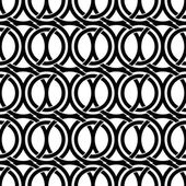 Black and white vintage style ornate mesh seamless pattern. — Stock Vector