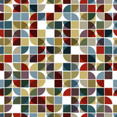 Abstract mosaic seamless background. — Stock Vector