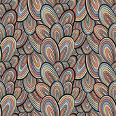 Funky style seamless pattern. — Vecteur