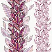Güzel çiçek seamless modeli. — Stok Vektör