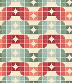 Naadloze geometrische tegels patroon. — Stockvector
