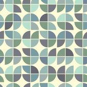 Nahtlose farbenmosaik, vektor-hintergrund. — Stockvektor