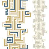 Maze seamless pattern. — Stock Vector