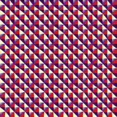 Optical rectangular tiles seamless pattern. — Stock Vector