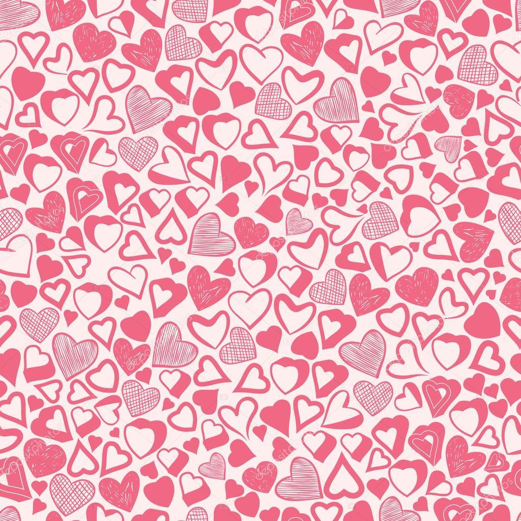 Картинки сердечки фон