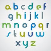 Modern style vector font. — Stock Vector
