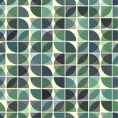 Abstract mosaic retro seamless pattern. — Stockvektor