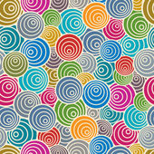 Funky style seamless pattern. — Stock Vector