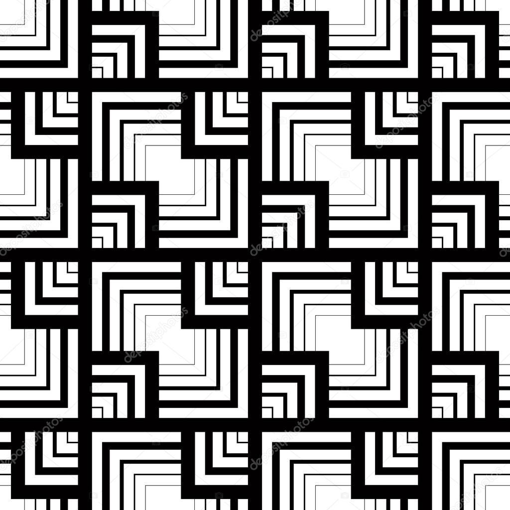 nahtlose schwarz wei muster einfachen vektor streifen geometri stockvektor sylverarts. Black Bedroom Furniture Sets. Home Design Ideas