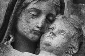 Virgin Mary and Jesus Christ — Stock Photo
