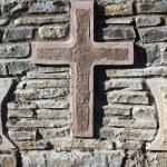 Old crosses — Stock Photo