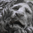 Stock Photo: Sculpture of lion as symbol of strength