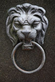 Sculpture of a lion as a symbol of strength — Stock Photo
