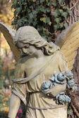 死亡的雕像 — 图库照片