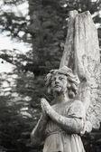 Figure Of A Praying Angel — Stock Photo