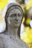 Socha panny marie — Stock fotografie