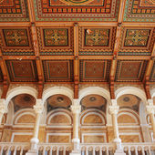 Mosaic interior of a medieval palace (Eastern Europe) — Stockfoto
