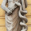 Greek God Asclepius — Stock Photo