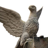 Statue of an eagle as a symbol of power — Stock Photo