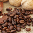 Foto Stock: Coffee grunge background