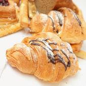 Pasty croissant — Stock Photo