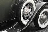 Фрагмент ретро автомобилей — Стоковое фото