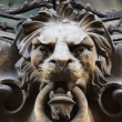 Stock Photo: Sculpture of lion as symbol of strength and greatness