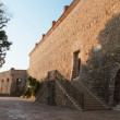 Stock Photo: Defensive wall of medieval castle (Budva, Montenegro)