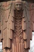 女神の像ギリシャ神話で、ヘラ、ジュノ r の — ストック写真