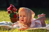 Unhappy child — Stock Photo