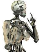 Female robot design — Stock Photo