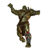 Evil orc — Stock Photo