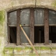 Stockfoto: Old dilapidated window