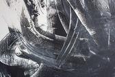 Siyah ve beyaz arka plan el boyalı — Stok fotoğraf