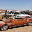 Old car junkyard - Stock Photo