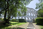 Amphitheatre in Pula,Croatia — Stock Photo