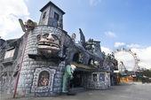 Amusement Prater park, Vienna — Stock Photo