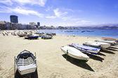 Canteras beach, Las Palmas de Gran Canaria, Spain — Stockfoto