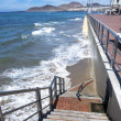 Stock Photo: Stairway to the beach