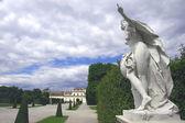Wien Belvedere Park — Foto de Stock